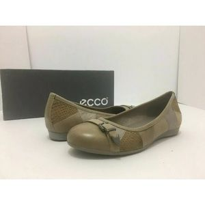 Ecco Touch Leather Women's Flats